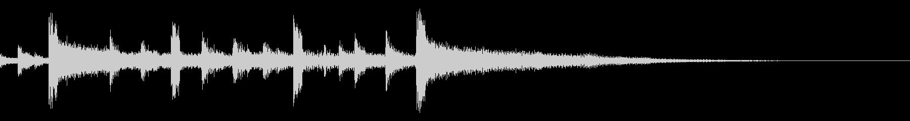 レゲエバンドシンセエンベロープスイープの未再生の波形