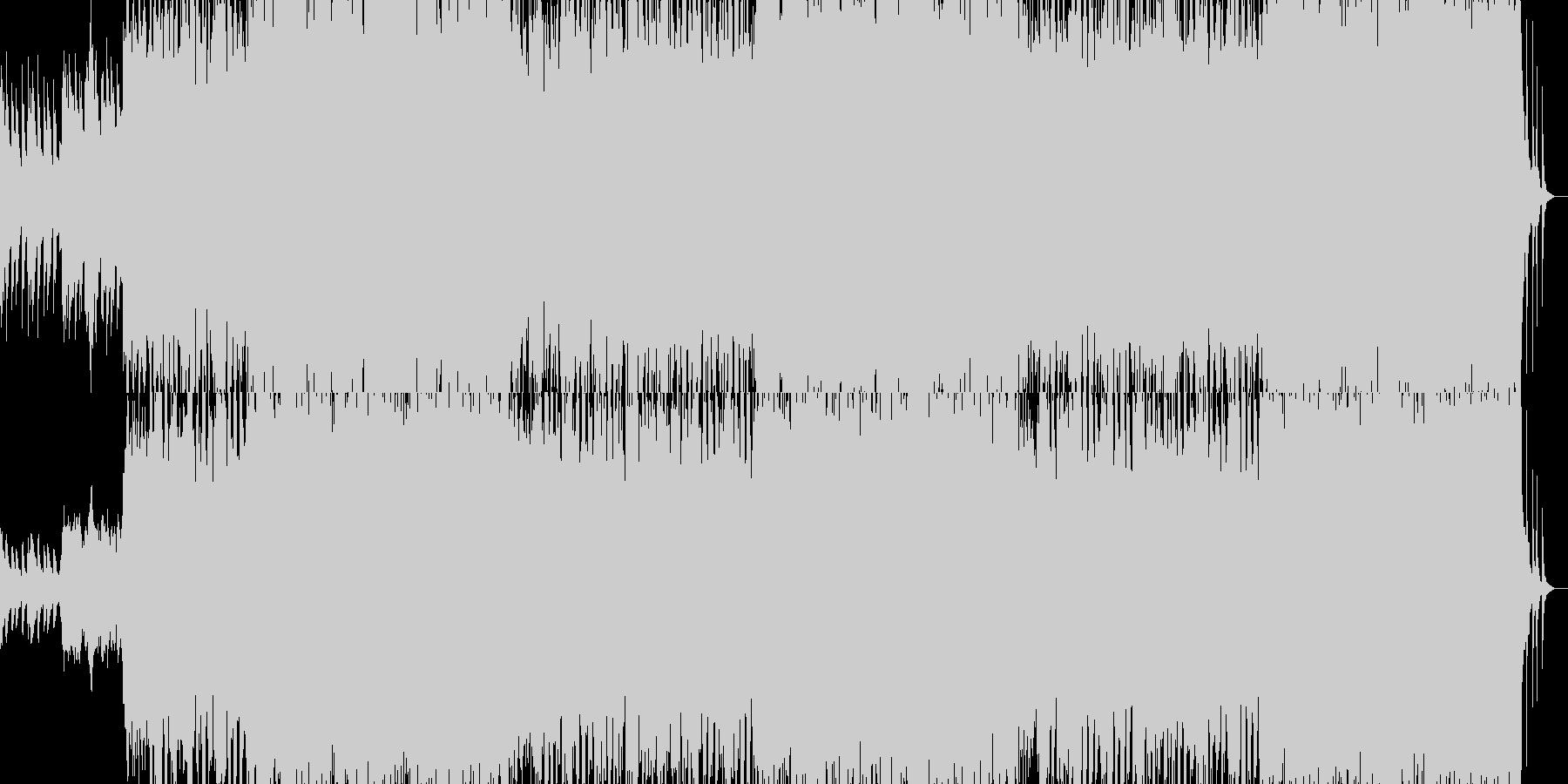 進撃のティンパニーの未再生の波形