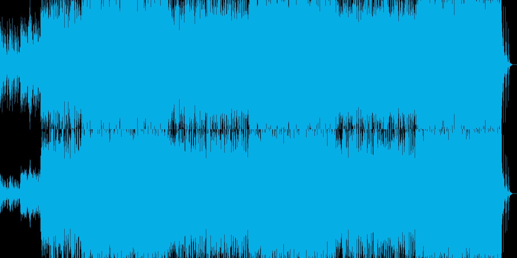 進撃のティンパニーの再生済みの波形