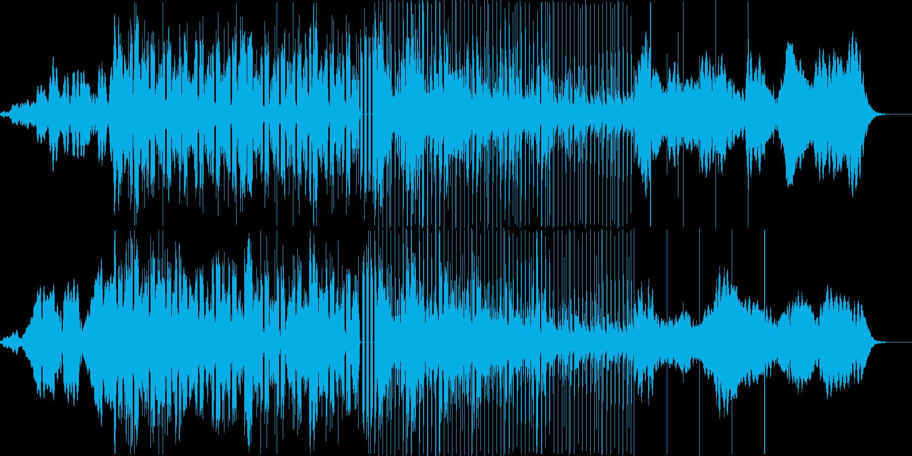 ディープなビートとダークなストリングス。の再生済みの波形