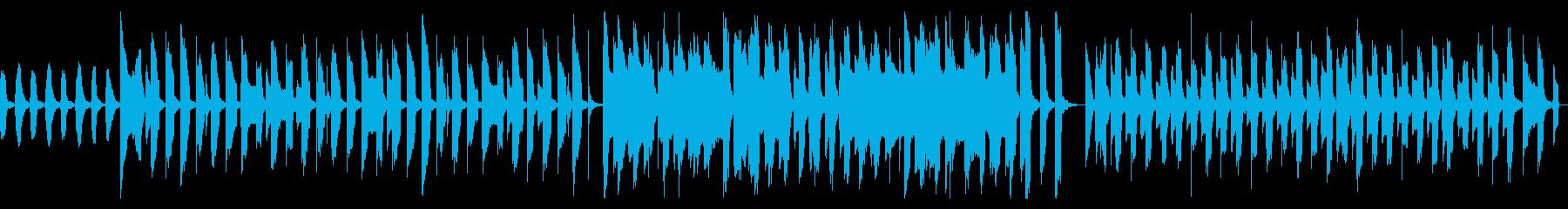ピタゴラスイッチ風かわいいリコーダー曲の再生済みの波形