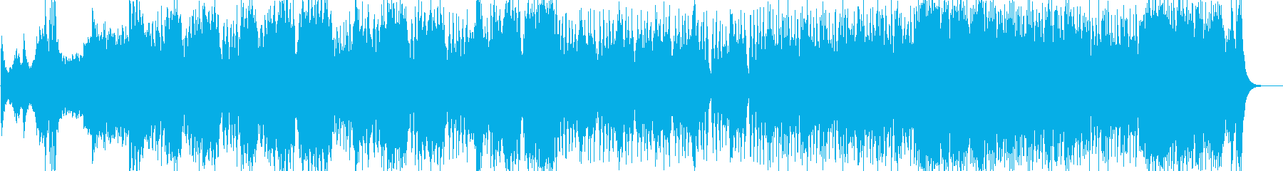 RPGなどの戦いを想定したオーケストラ。の再生済みの波形