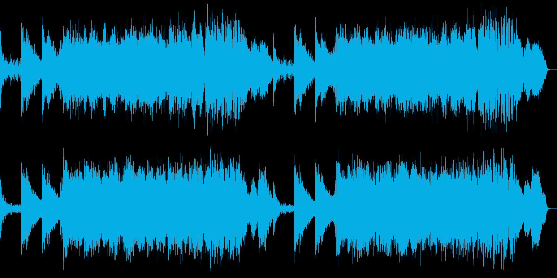 シネマチックなSFやファンタジーの再生済みの波形