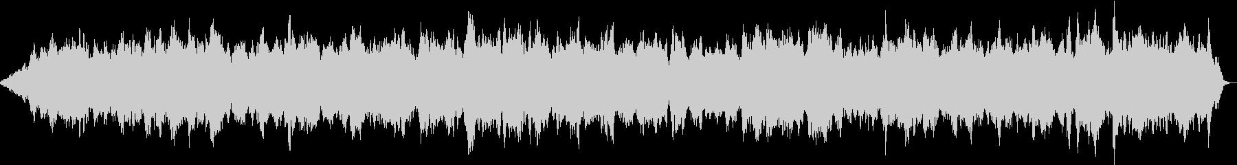 自然音とマインドフルネス 無になれるの未再生の波形
