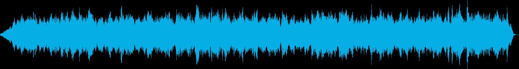 自然音とマインドフルネス 無になれるの再生済みの波形