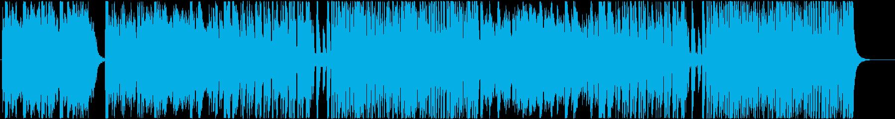 ファンタジー系OP向けの明るいインストの再生済みの波形