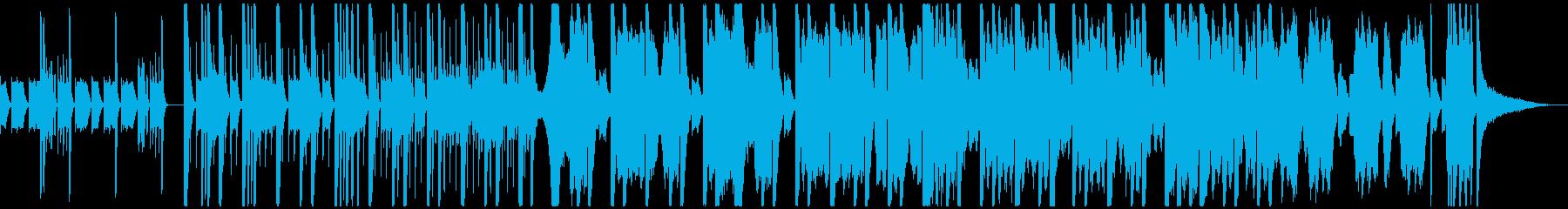 海外ブランドCMトラック2(和風)の再生済みの波形