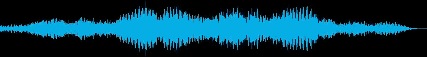 【ダーク】ホラーな世界観_ゲームの再生済みの波形