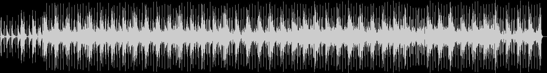 有機的でゆったりとしたピアノヒップホップの未再生の波形
