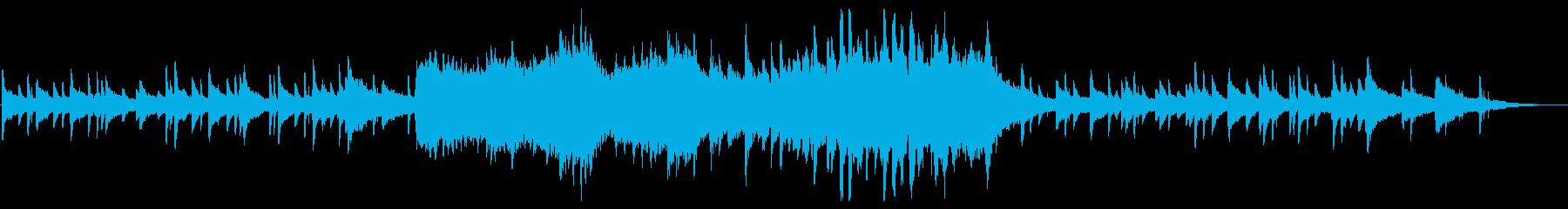 アンビエントミュージック 感情的 ...の再生済みの波形