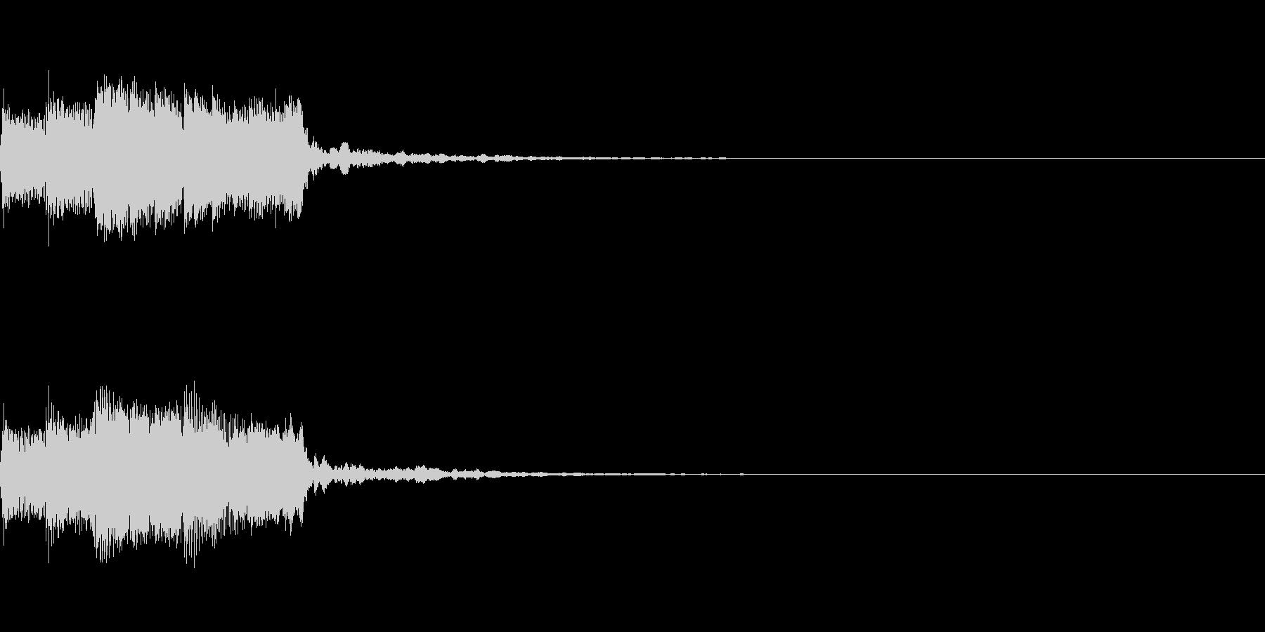 アイキャッチ、ロゴA07の未再生の波形