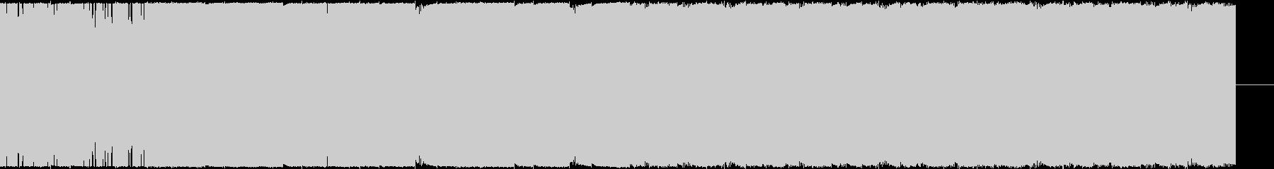 ゲームのロビーで使うインスト曲の未再生の波形