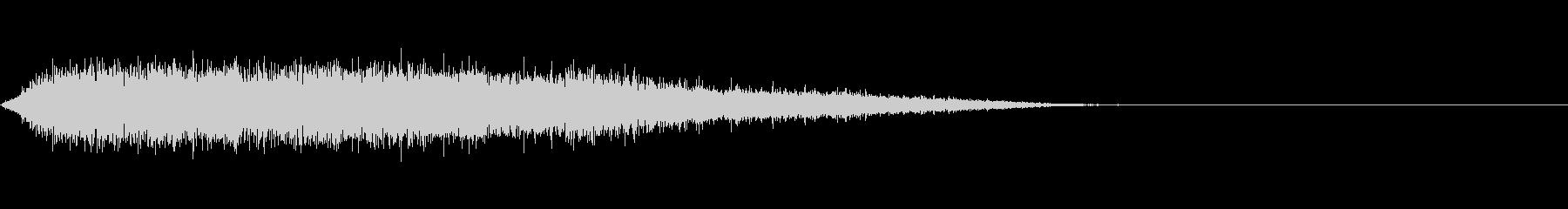 歓声 応援 祝いの声 効果音 02の未再生の波形