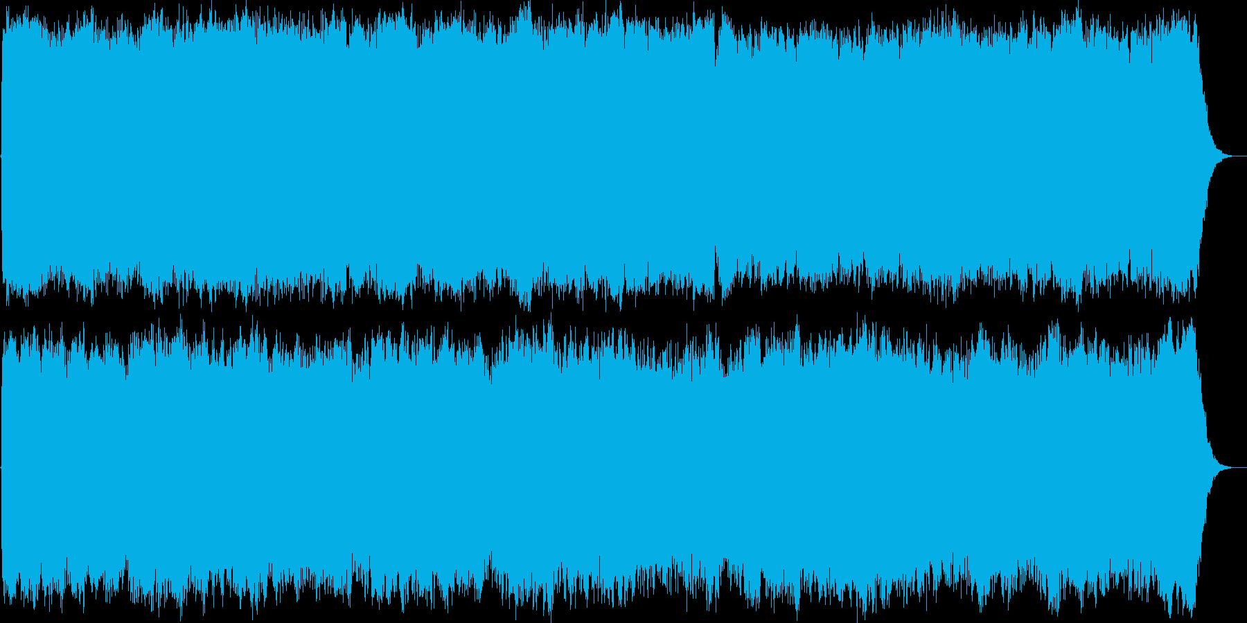 神聖なるパイプオルガンの賛美歌の再生済みの波形