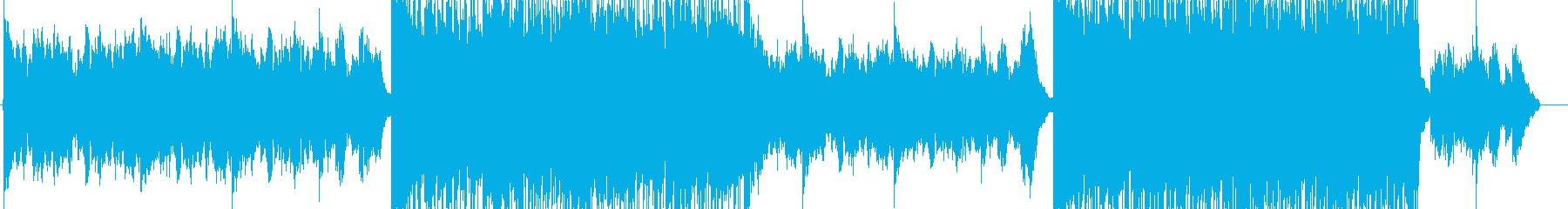 地球を感じる雄大なオルタナティブ曲の再生済みの波形