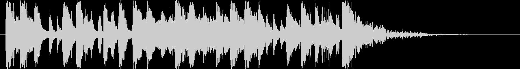 ロック系ヒップホップジングルの未再生の波形