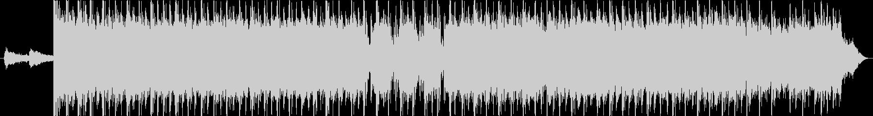 疾走感のあるスラッシュメタルのギターリフの未再生の波形