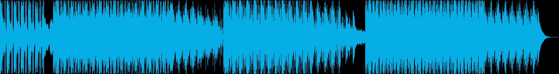 ダークな世界観のダブトラックの再生済みの波形
