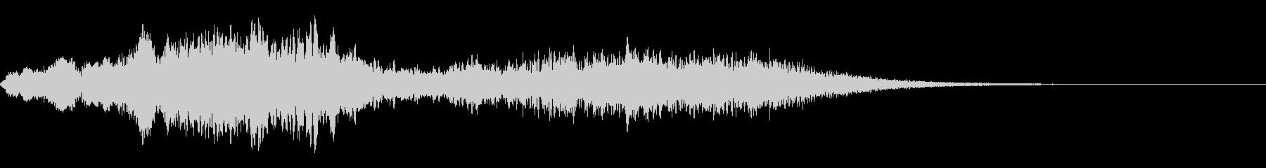 ホラー系導入音_その17の未再生の波形