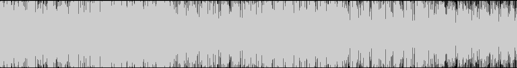 フルート、バイオリン主体のケルト調な曲の未再生の波形