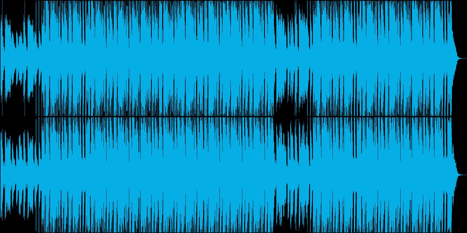 エモーショナルHIPHOPタイムラプスの再生済みの波形
