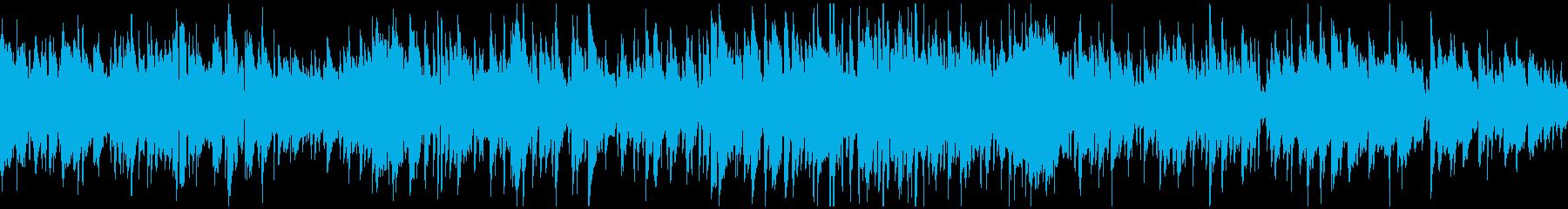緩やかで優しいボサノバ ※ループ仕様版の再生済みの波形