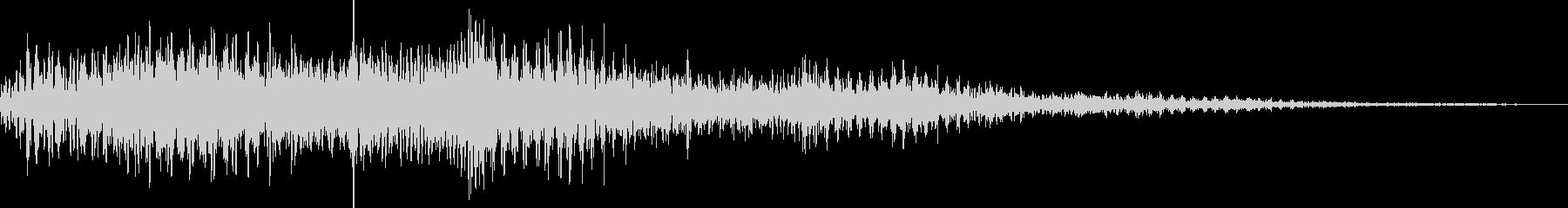 ビュワーン(ワープ、転移、モーフィング)の未再生の波形