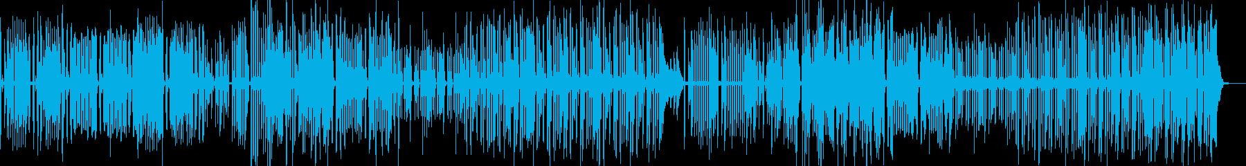 グダグダな演出に・コミカルポップ C4の再生済みの波形