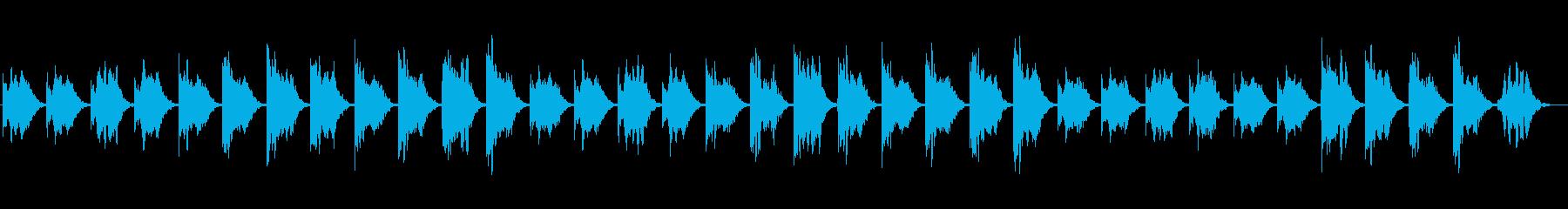 幻想的で、自然界を感じるヒーリング音楽の再生済みの波形