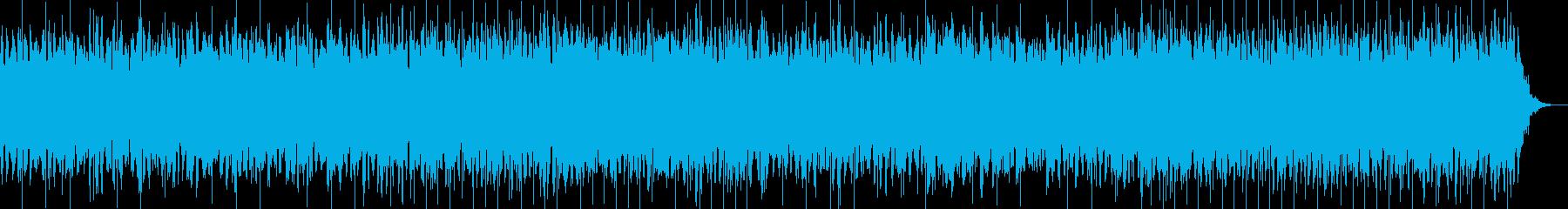 アーバンでドリーミーなシンセBGMの再生済みの波形