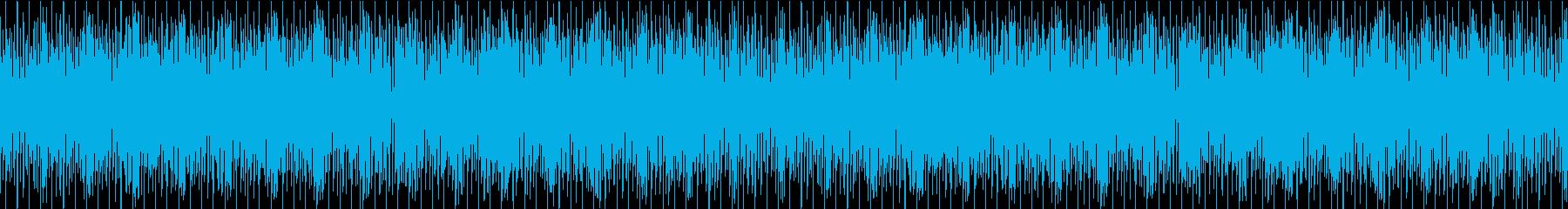 明るく可愛いBGM/オケ/ループ可能の再生済みの波形