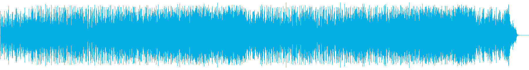 リゾート風のフュージョン(フルサイズ)の再生済みの波形