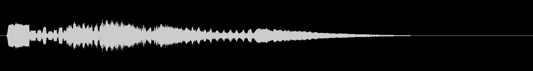 テーマ15B:フルート、クラリネットの未再生の波形