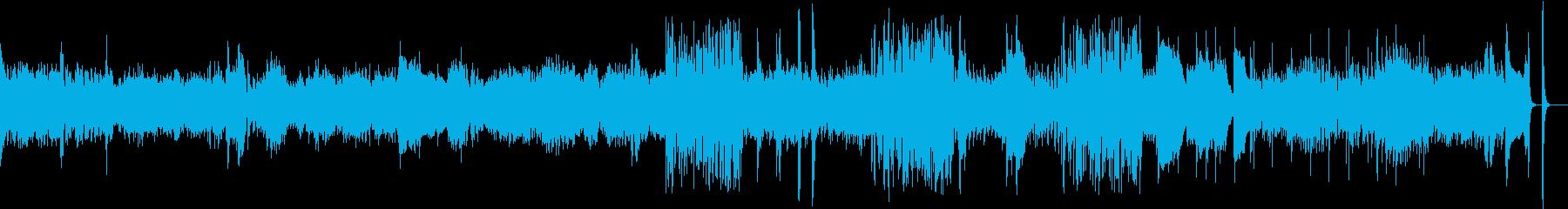 切ないピアノの旋律からのジャズアレンジの再生済みの波形