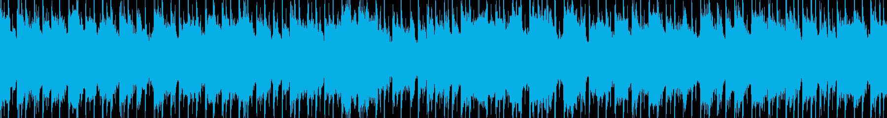 ループ素材 カントリー・バンジョー・西部の再生済みの波形