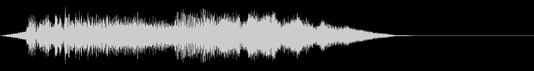 ソフトパックシンセアクセントとグーグル5の未再生の波形