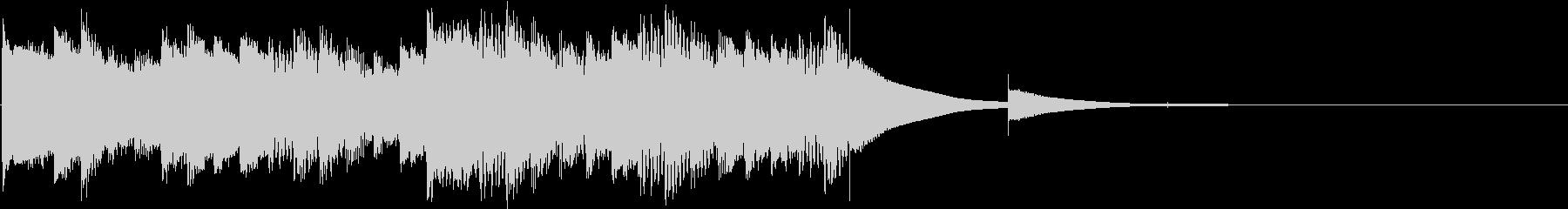 鉄琴 グロッケンの未再生の波形