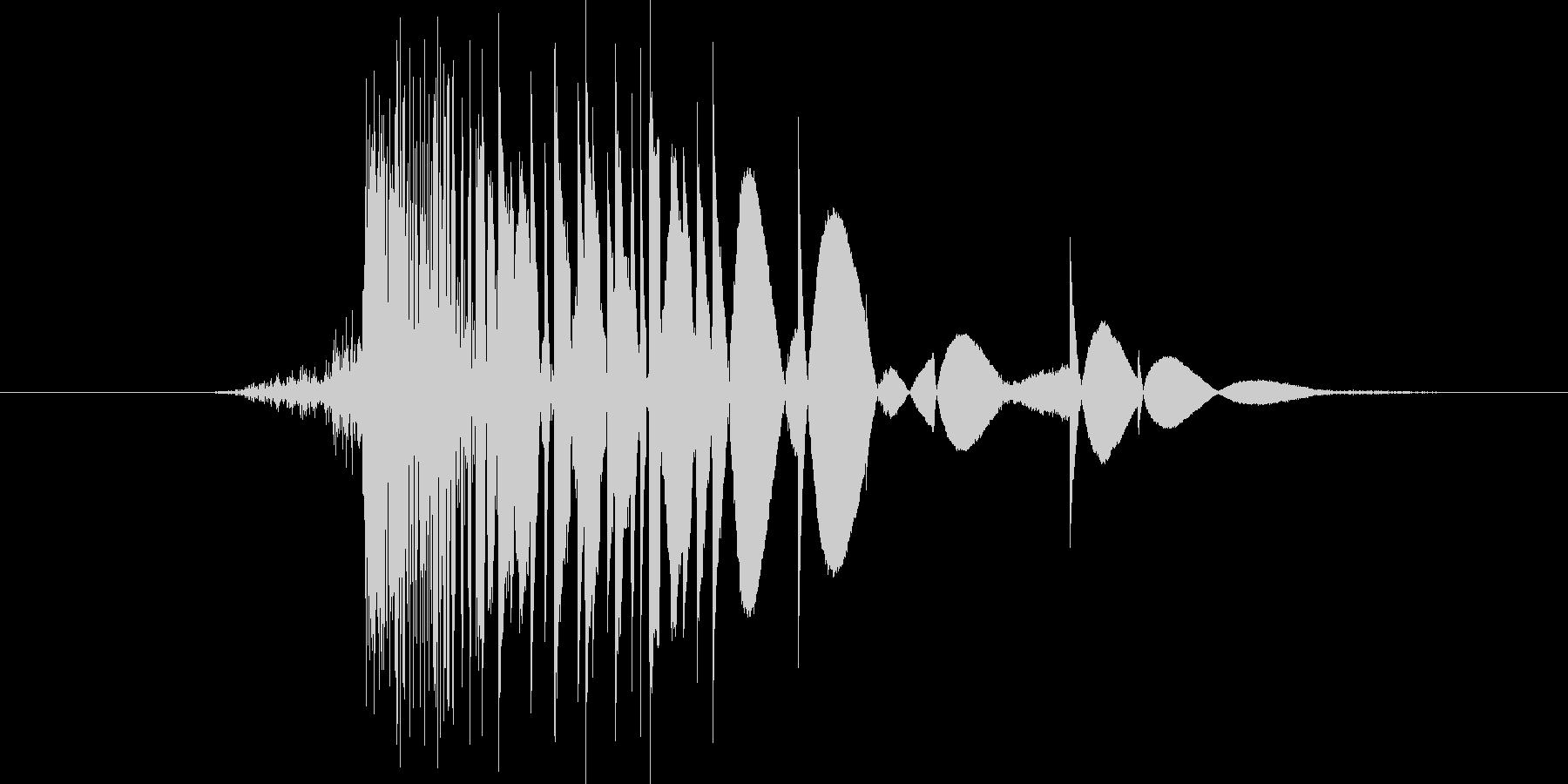 ゲーム(ファミコン風)ヒット音_001の未再生の波形