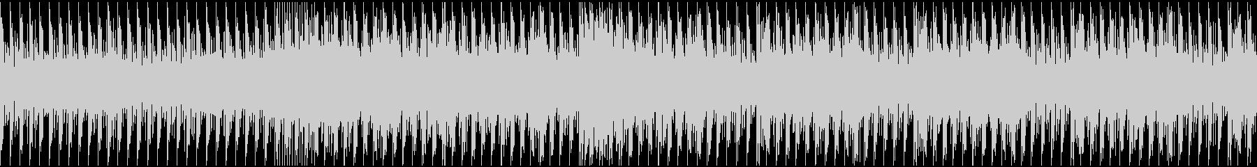 ノリのいいトランス ループの未再生の波形