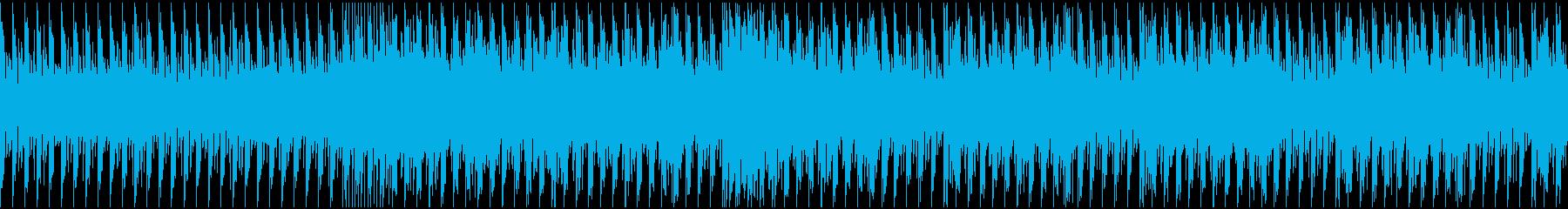 ノリのいいトランス ループの再生済みの波形
