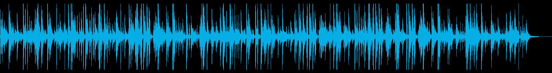 かっこいいジャズピアノバラードBGMの再生済みの波形