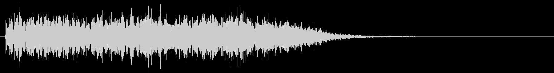 ビーム 光線 ピロピロ エネルギー系の音の未再生の波形