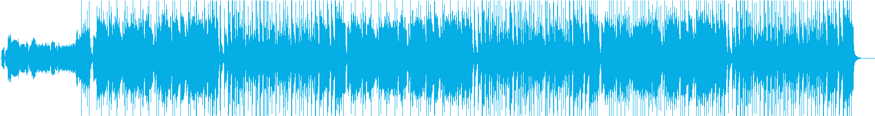 ハッピーバースデーのスカアレンジの再生済みの波形