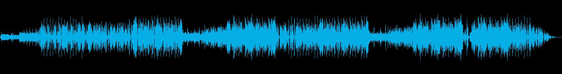 ファンキーなハウスの再生済みの波形