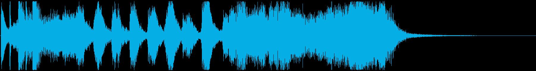 CM コメディードラマ1 オープニングの再生済みの波形