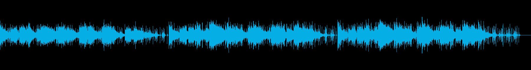 エスニックで怪しい/サスペンス/ホラーの再生済みの波形