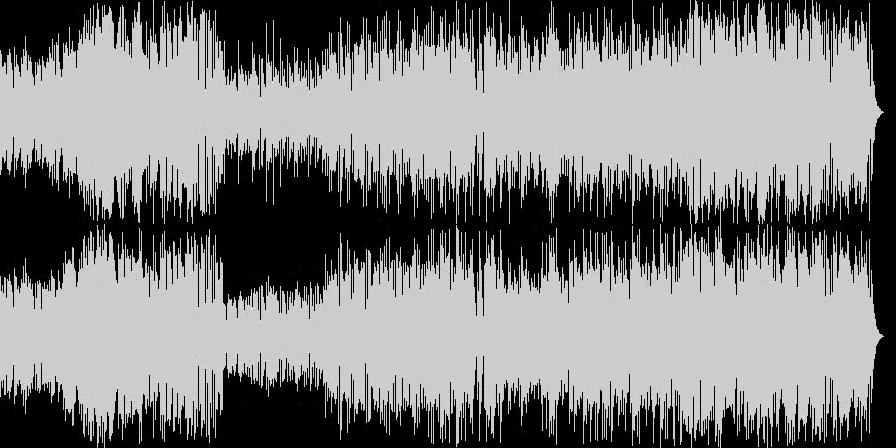 ポップでメロディアスなケルト音楽の未再生の波形