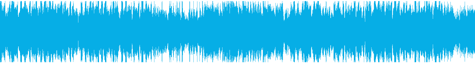 篠笛生演奏の和風EDM ※ループ仕様版の再生済みの波形