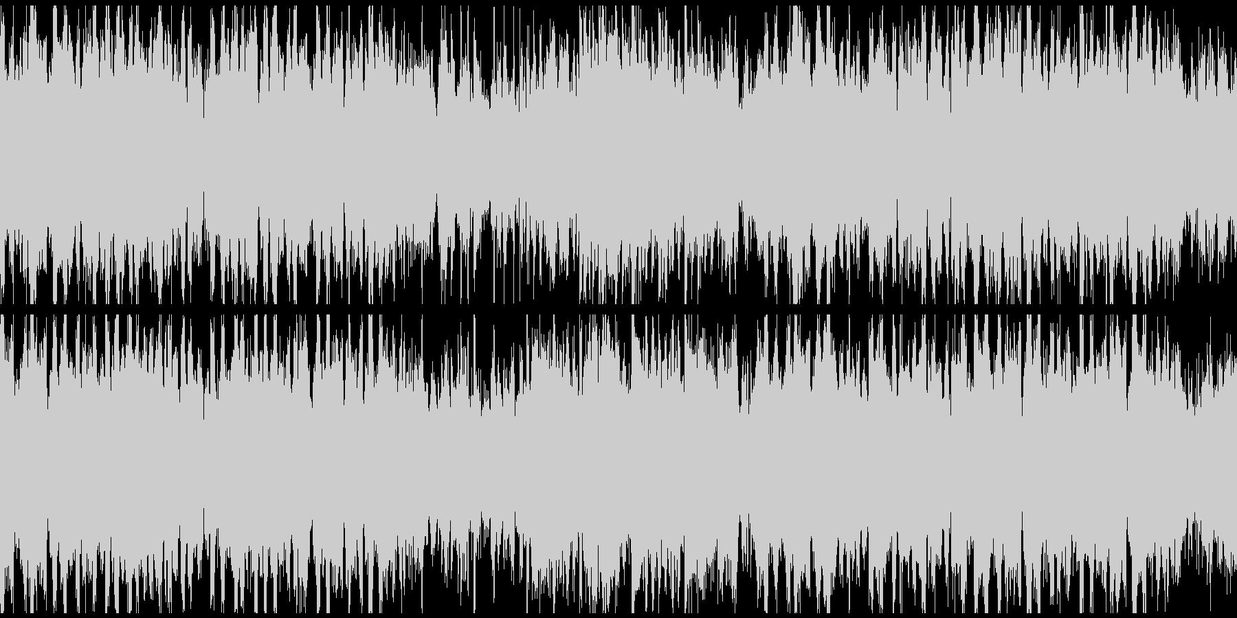 篠笛生演奏の和風EDM ※ループ仕様版の未再生の波形