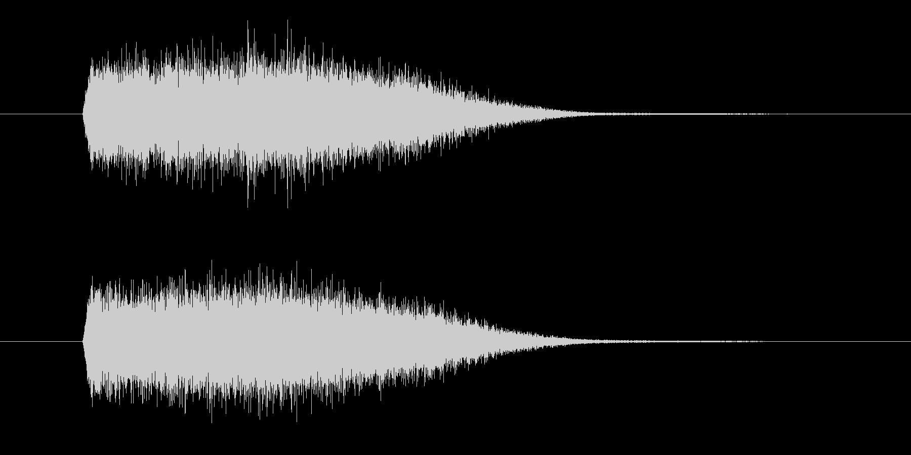 風や速さをイメージさせる効果音_SEの未再生の波形